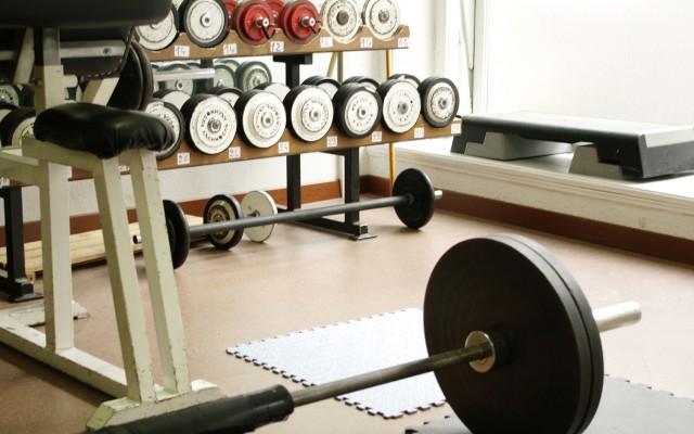 Weights at gym optimyz