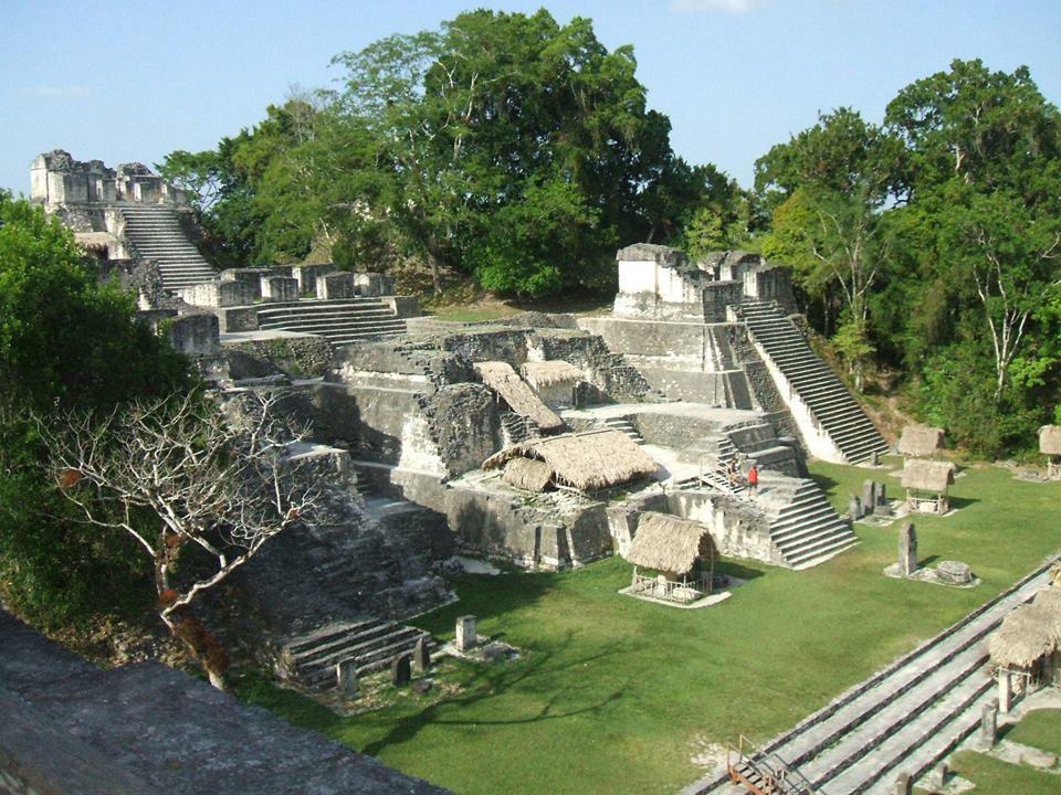 The famed Mayan ruins.