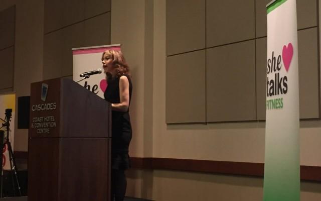 C Blanchette speaking