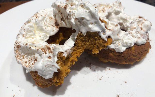 pumpkin donutsedit