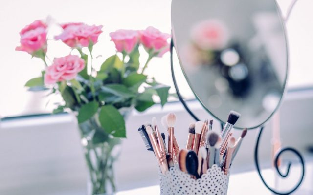 Spring beauty routine