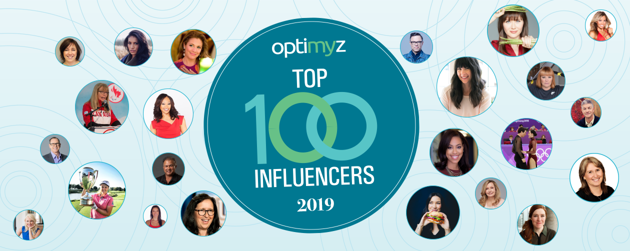 OptiMYz Top 100 Influencers 2019