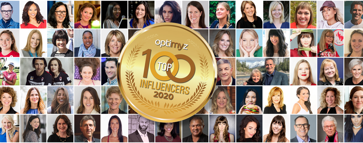 Top 100 Canadian Health Influencers 2020